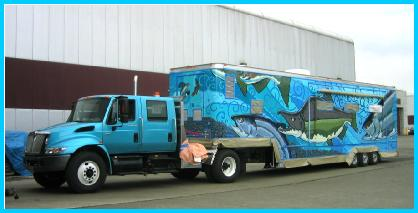 Alaska Fish and Game Mobile Mural