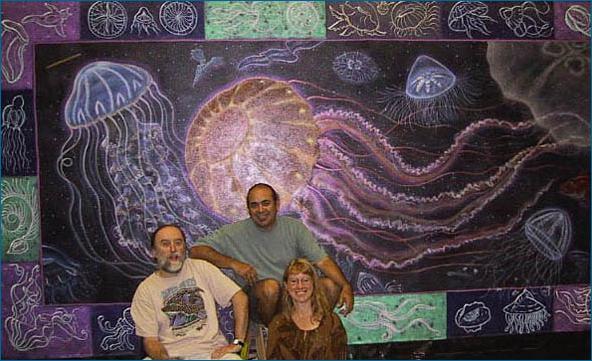 Monterey Bay Aquarium Mural