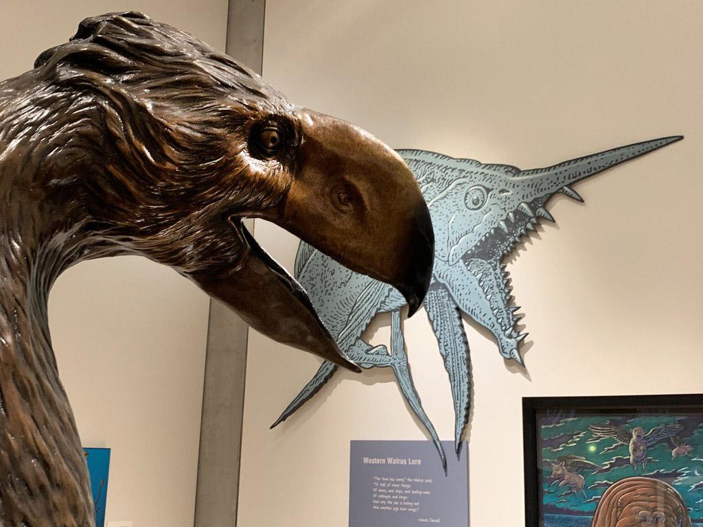Juneau Empire article about Cruisin' the Fossil Coastline exhibit