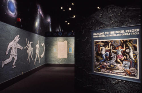 "When the exhibit moved to California in 1995 it was renamed ""Dancing to the Fossil Record"""