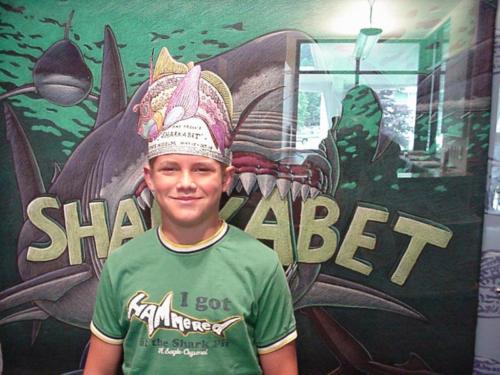 A fine ratfish hat