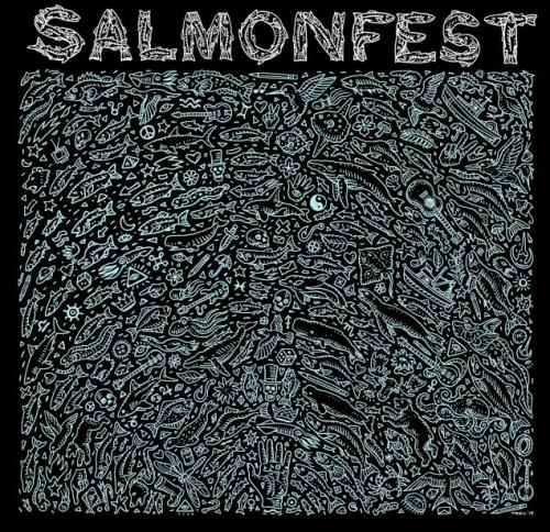 2019 Salmonfest Pattern Shirt xx