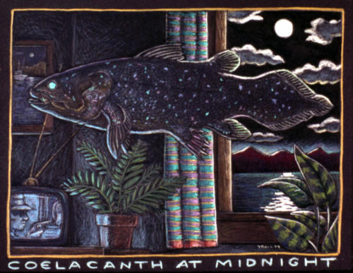 Coelacanth at Midnight