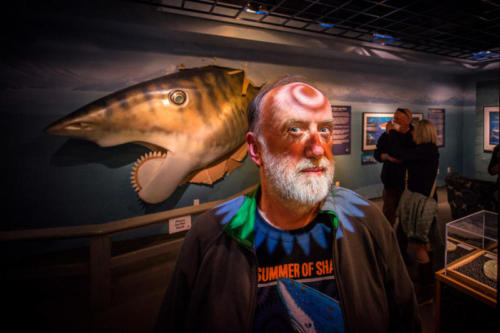 Mr. Troll with whorls on the brain at the Alaska SeaLife Center