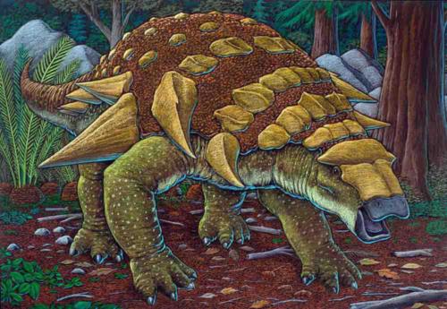 Edmontonia, Alaskan ankylosaur