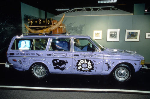 Charle's Darwin's Evolvo art car