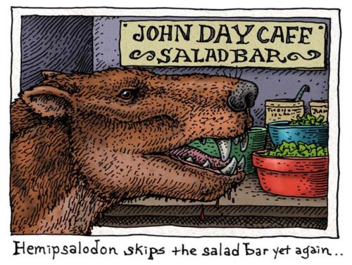 Hemipsalodon at the Salad Bar