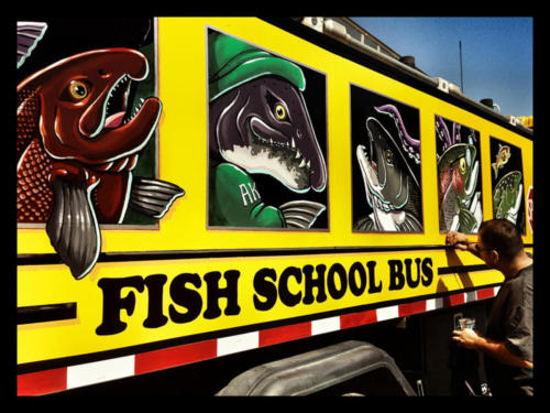 Fish School Bus