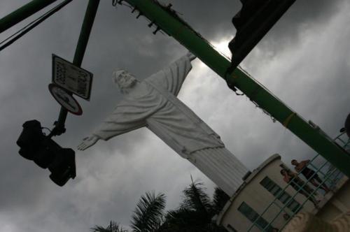 The giant Jesus of Coari.