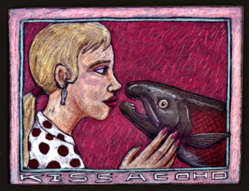 Kiss a Coho