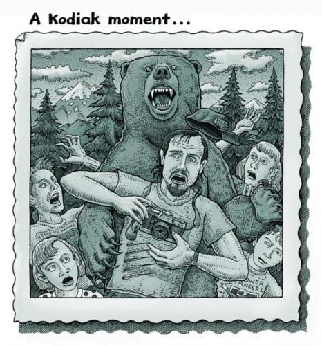 A Kodiak Moment