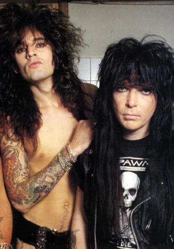 Mötley Crüe's Mick Mars and Tommy Lee