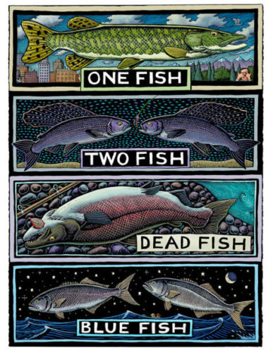 One Fish, Two Fish, Dead Fish, Blue Fish