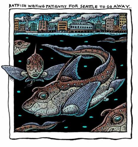 Ratfish Waiting for Seattle to Go Away