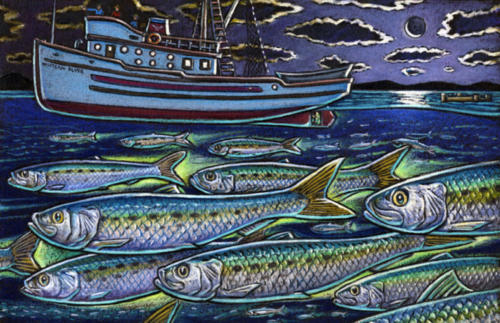 Pacific Sardines and the Western Flyer