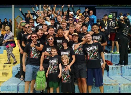 Team Sockeye in Italy