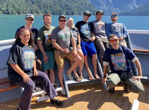 Nat Geo Lindblad crew in SE Alaska