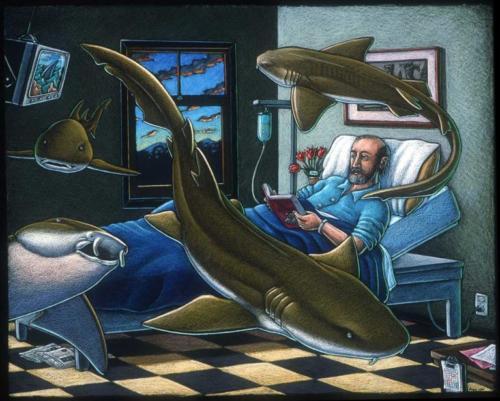 Nurse Sharks and Ratfish Ray