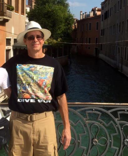 In Venice Italy...