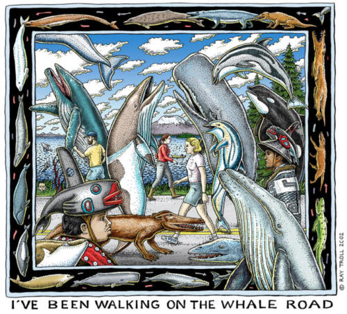 Walking on the Whale Road