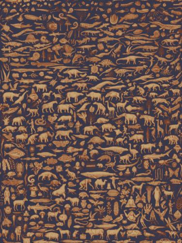 Fabric of Life Repeat Pattern