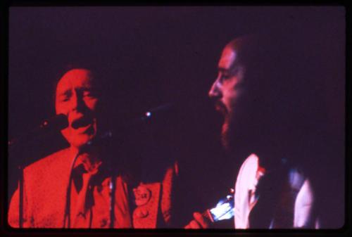 Jim Hockenhull and Ray back in the ZuZu days at WSU, circa 1980