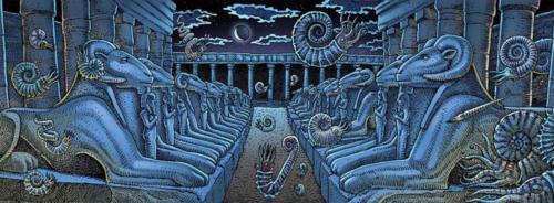 Temple of Amon (how ammonites got their name)