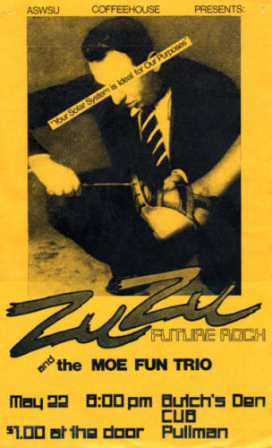 Zuzu Poster designed by Jim Hockenhull