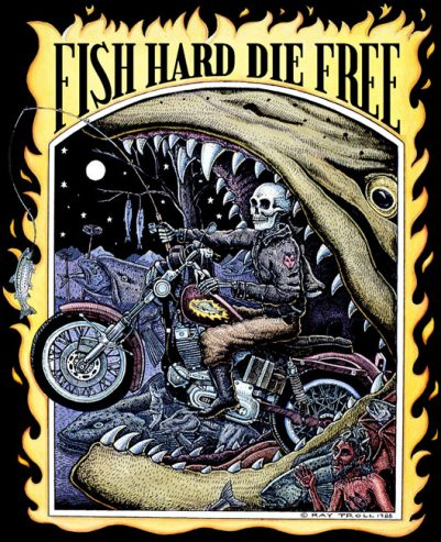 FISH HARD DIE FREE