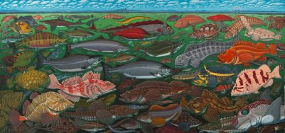 FISHES OF THE SALISH SEA ART POSTER