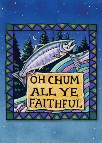 OH CHUM ALL YE FAITHFUL CARD PACK
