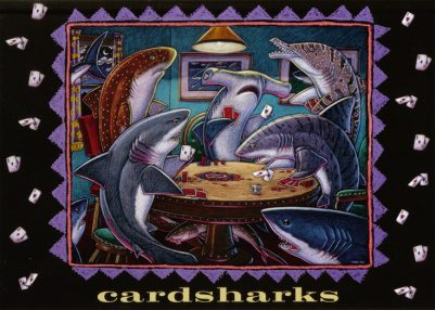 CARD SHARKS CARD PACK