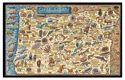 FOSSIL MAP OF OREGON
