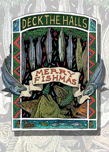 MERRY FISHMAS CARD PACK