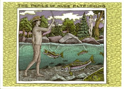 PERILS OF NUDE FISHING CARD PACK
