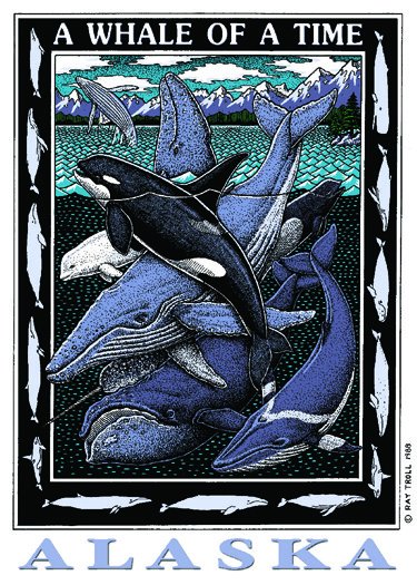 WHALE OF A TIME CARD PACK
